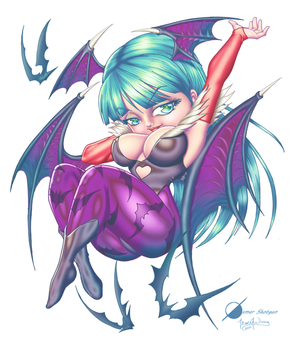 Morrigan - Colors by TracyWong