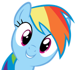 Rainbow Dash - Oh Hai There! by MrLolcats17