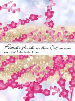 Blossom Photoshop Brushes by Coby17