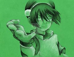 The Blind Bandit: Toph by TinyAmazon