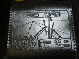 Leather Pouch/Satchel - Back - DB7 by Dandy-L