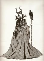 Maleficent by hwilki65