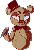 Freddy Fazbear by catitty