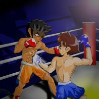 Boxing by P-KC