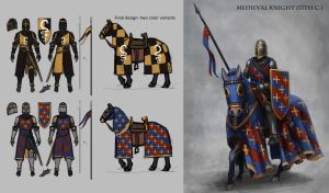 Geographically Ambiguous Medieval Knight by MeMyMine