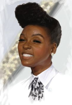 Janelle Monae by yourTOESareMISSING