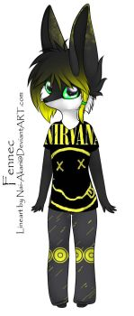 Anthro Fennec Nirvana Adoptable ~ CLOSED by BiahAdopts