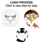LOGO PROCESS Step by Step using the Golden Ratio by ProjectCornDog
