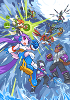 Freedom Planet 2 Announcement Concept Art by TysonTan