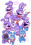 Bonnie Doodles by HINOKI-pastry