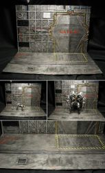 Mechanical Basement Diorama by PGwainbenn