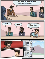 Boardroom Suggestion (game consoles) by Ghostbustersmaniac