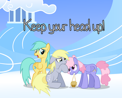 Commission: Keep your head up! by TehJadeh