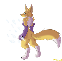 Renamon by wilczus2