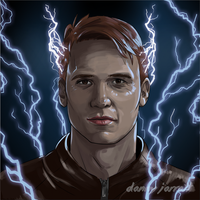 The Electric Devil - Jay Garrick - The Flash by DannyJarratt