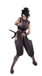 [BLENDER] Tenchu Kurenai Portable: Ayame COMPLETE by Ceneoss