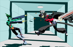 Don't bring guns to a extradimensional sword fight by A-Fox-Of-Fiction