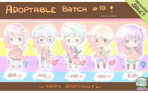 CLOSED (0/5) SALE Point/Trade Adopt Set Batch 10! by LarcheDeMorce