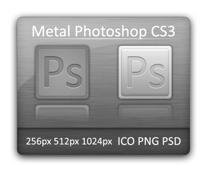 Metal Photoshop CS3 by Vathanx