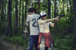 Javier and Clem by OrihimeSchiffer