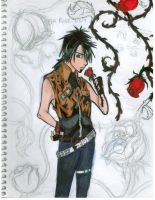 Emo Rose Guy Adam by Emoraven613