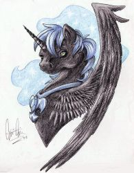 Nightmare Moon design by Luxray-Insanity