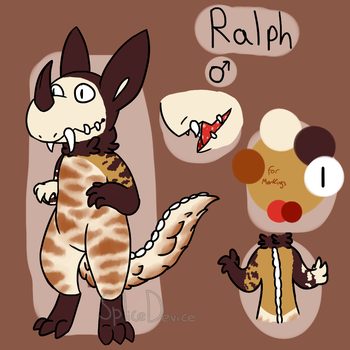 Ralph Reference Sheet by SpliceDevice