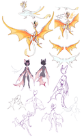 New Wings and New Tails by Vergolophus
