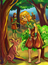 Childhood of Lavellan by Io-Zoi