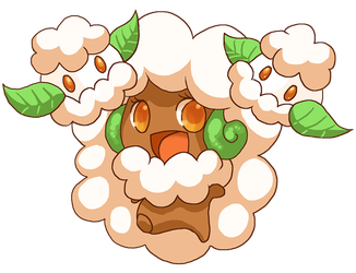 Whimsicott and Cottonee by Pace-Eterna
