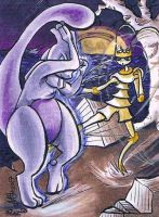 Mewtwo and Pheromosa