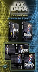 Boxarts - Dex and Daina Printable DVD boxarts by DlynK