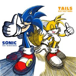 Forever Sonic and Tails by darkspeeds