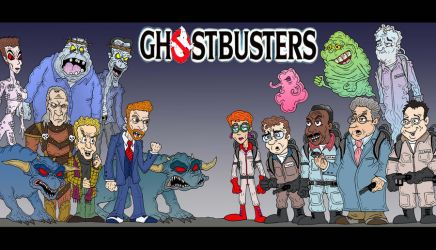 GHOSTBUSTERS by Lordwormm