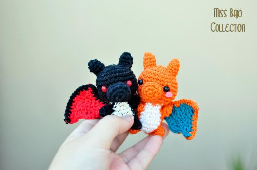 Charizards by MissBajoCollection