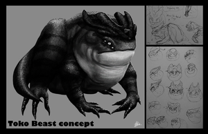 Toko beast concept by Mr-Goblin