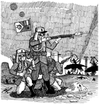 The Foreign Legion in Mars by atisuto17