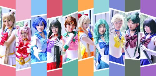 Sailor moon by yuanie