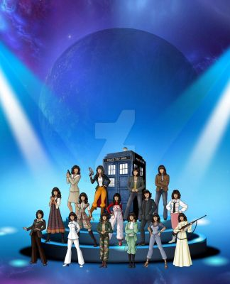 Sarah Jane Smith Adventures in Time and Space by markdominic