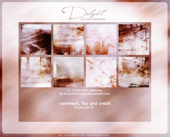 delight: textures set by inconditionally