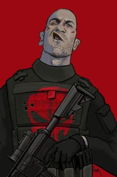 Frank Castle by Lite-mike