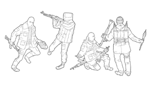 Neocrimean Lineart Dump (WiP) by NicklausofKrieg
