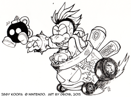 DailyNewfs 9 - Larry Koopa by d6016