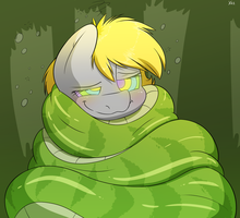 Wrapped Up Snugly by FluffyXai