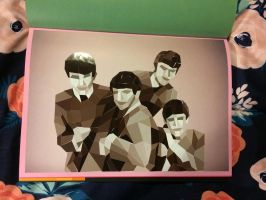 The Beatles by funnkymonkey303