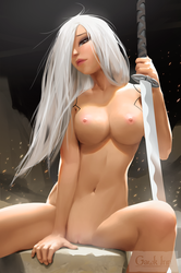NSFW A2 Arrives by GawkInn