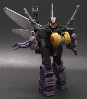 Insecticon Flyby by Shinobitron