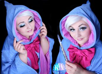 Fairy Godmother Makeup w/ Tutorial by KatieAlves