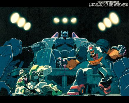 Pit Fight Wreckers wallpaper by dcjosh