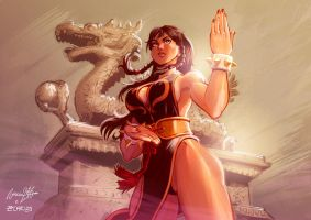 Chun Li Street Fighter V by viniciusmt2007
